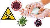 Коронавирусу — нет! ⛔Тщательно мойте руки с мылом и обрабатывайте их антисептиком