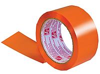 Лента липкая 48мм*66м, 45 мкм, оранжевая