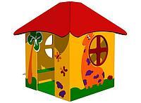Домик игрушечный для детей с крышей, сидениями