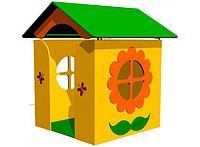 Домик игрушечный для детей, с крышей