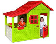 Детский домик садовода, с крышей, дверьми, окнами, упрочнённый пластик