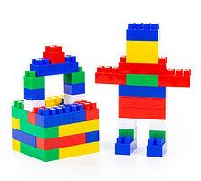 Конструктор (Малый, 48 элементов) (в мешке)