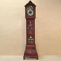 Напольные часы в китайском стиле. Часовая мастерская Kienzle