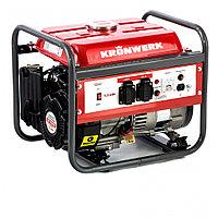 Генератор бензиновый LK 1500, 1.2 кВт, 230 В, бак 6 л, ручной старт Kronwerk, фото 1