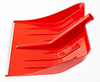 Лопата для уборки снега пластиковая, красная, 400 х 420 мм, без черенка, Россия Сибртех
