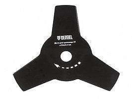 Диск для триммера, 255 х 25,4 мм, толщина 1,6 мм, 3 лезвия Denzel