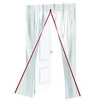Пленочная дверь на молнии типа I, 220 x 120 cm, с малярной лентой 2,5 см х 10 м Matrix