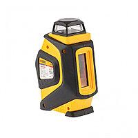 Уровень лазерный LX360, 20 м, ± 0,3 мм/1 м, горизонтальная и вертикальная плоскости, 360 град, 635 нм, резьба 1/4 Denzel