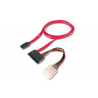 Кабель SATA Power Cable + информационный (комплект x 1 HDD Serial ATA)