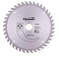 Пильный диск по дереву, 180 х 22 мм, 40 зубьев Sparta, фото 1