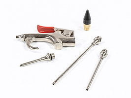 Набор продувочный пистолет, пневмат. в комплекте с насадками, 4 шт Matrix