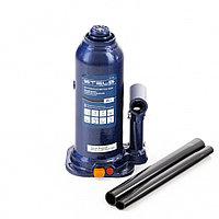 Домкрат гидравлический бутылочный, 6 т, h подъема 207-404 мм, в пластиковом кейсе Stels, фото 1
