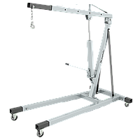 Кран гидравлический, 2 т, H подъема 255-1880 мм (комплект из 2 частей) Matrix