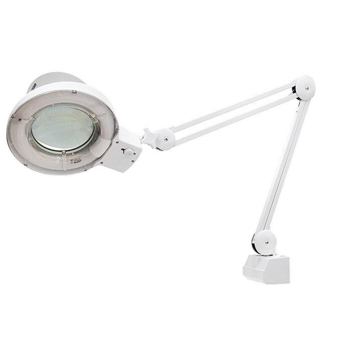 Лупа с подсветкой 3 кратная, D 125 мм, со струбцинным креплением к столу Matrix