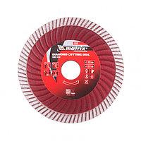Диск алмазный, отрезной Turbo Extra, 125 х 22,2 мм, сухая резка Matrix Professional, фото 1