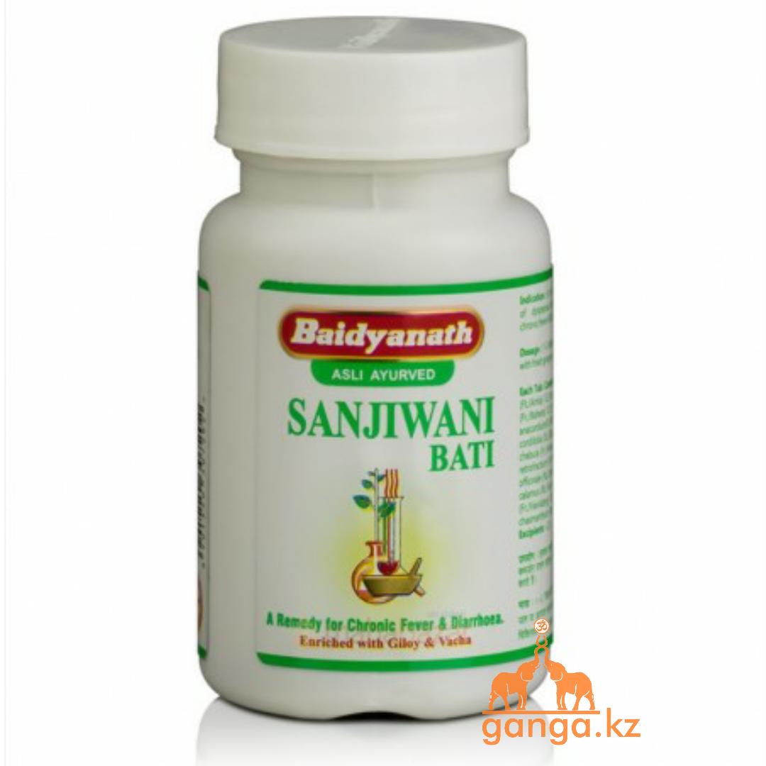 Сандживани вати - противовирусный и антибактериальный препарат (Sanjiwani Bati BAIDYANATH), 80 таб
