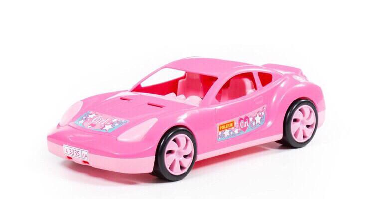 """Игрушка гоночный автомобиль """"Торнадо"""" розовый, Polesie"""