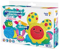 GK TA1802 Набор для детской лепки «Шариковый пластилин 6 цветов»