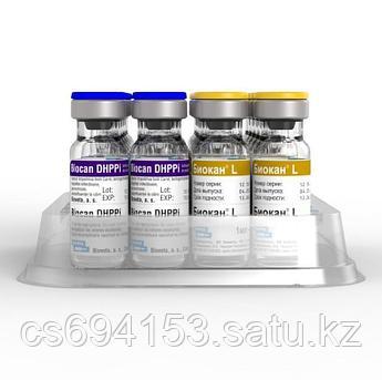 Биокан DHPPI+L: Комбинация вирусных антигенов и 3 серогрупп Leptospira spp. для повторной вакцинации