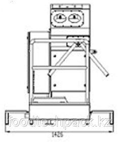 Санпропускник со шкафом для моющего средства 1051010437/1041010438
