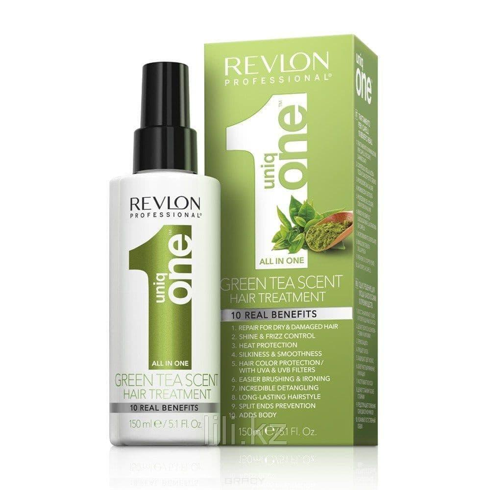 Спрей маска с ароматом зеленого чая для волос Uniq One Green Tea Scent Hair Treatment 150 мл.