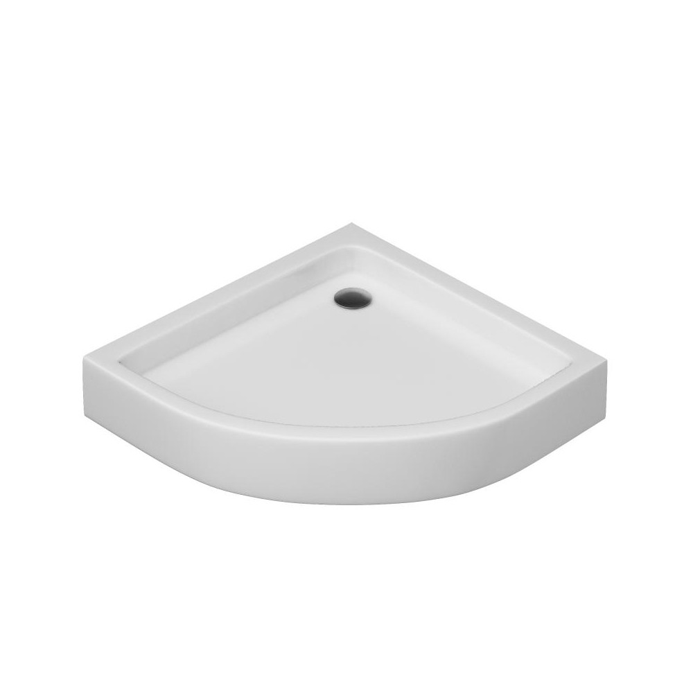 Поддон для душ. уголка AM. PM BLISS L Solo Slide, , 90x90, белый акрил