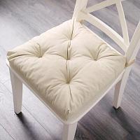 Подушка на стул МАЛИНДА, светло-бежевый 40/35x38x7 см