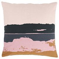 Чехол на подушку ЭЛЬДТЁРЕЛ, розовый, разноцветный 50x50 с