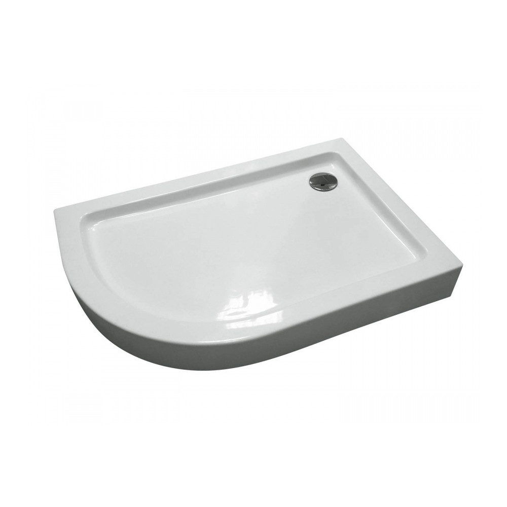 Поддон для душ.уголка AM. PM BLISS L Twin Slide 120, правосторонний, 120x80, белый акрил
