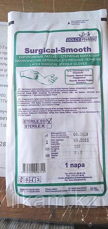 Перчатки резиновые хирургические стерильные размер 8, фото 2