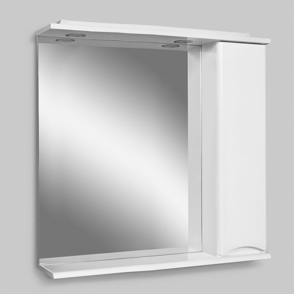 Зеркальный шкаф с подсветкой, 80 см AM.PM M80MPR0801WG