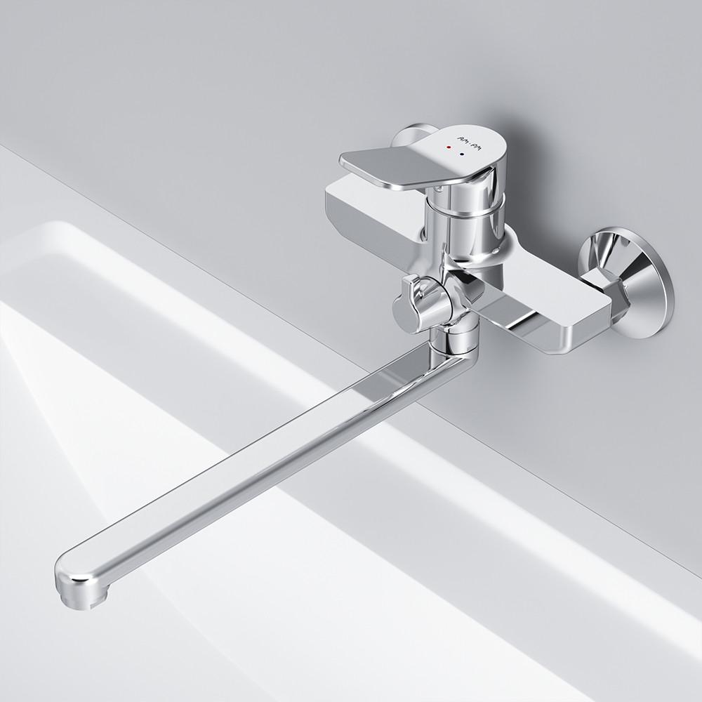 Смеситель для ванны и душа с длинным изливом AM.PM F85A90000