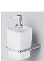 Стеклянный диспенсер для жидкого мыла, с настенным держателем AM.PM, фото 1