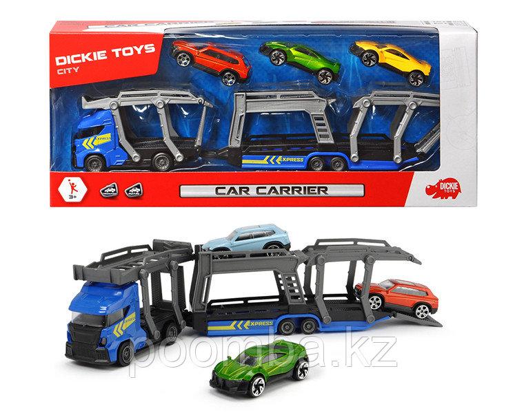 Игрушка автовоз и 3 машинки 28 см Dickie Toys
