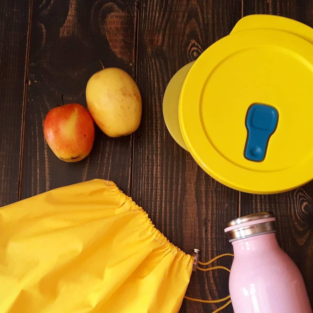 Плащевка. Многоразовый мешочек авоська для влажных продуктов