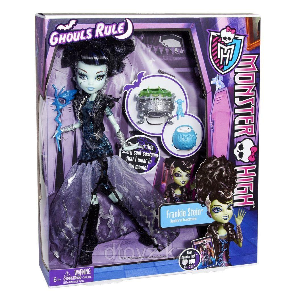 Monster High Ghouls Rule Фрэнки Штейн X3712
