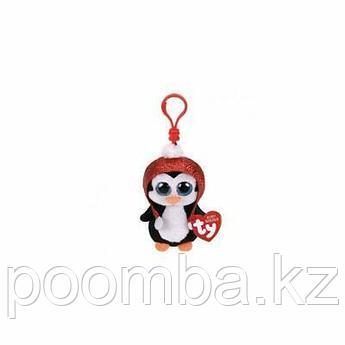 Игрушка-брелок Гейл пингвин черно-белый 10 см