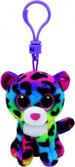 Игрушка-брелок Дотти леопард многоцветный 10 см