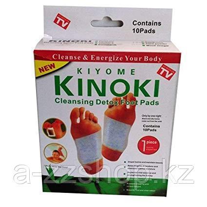 Лечебный пластырь для стоп Kinoki 10 штук