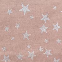 """Скатерть """"Этель"""" Silver stars 149х180см, 100%хл, 190г/м2"""