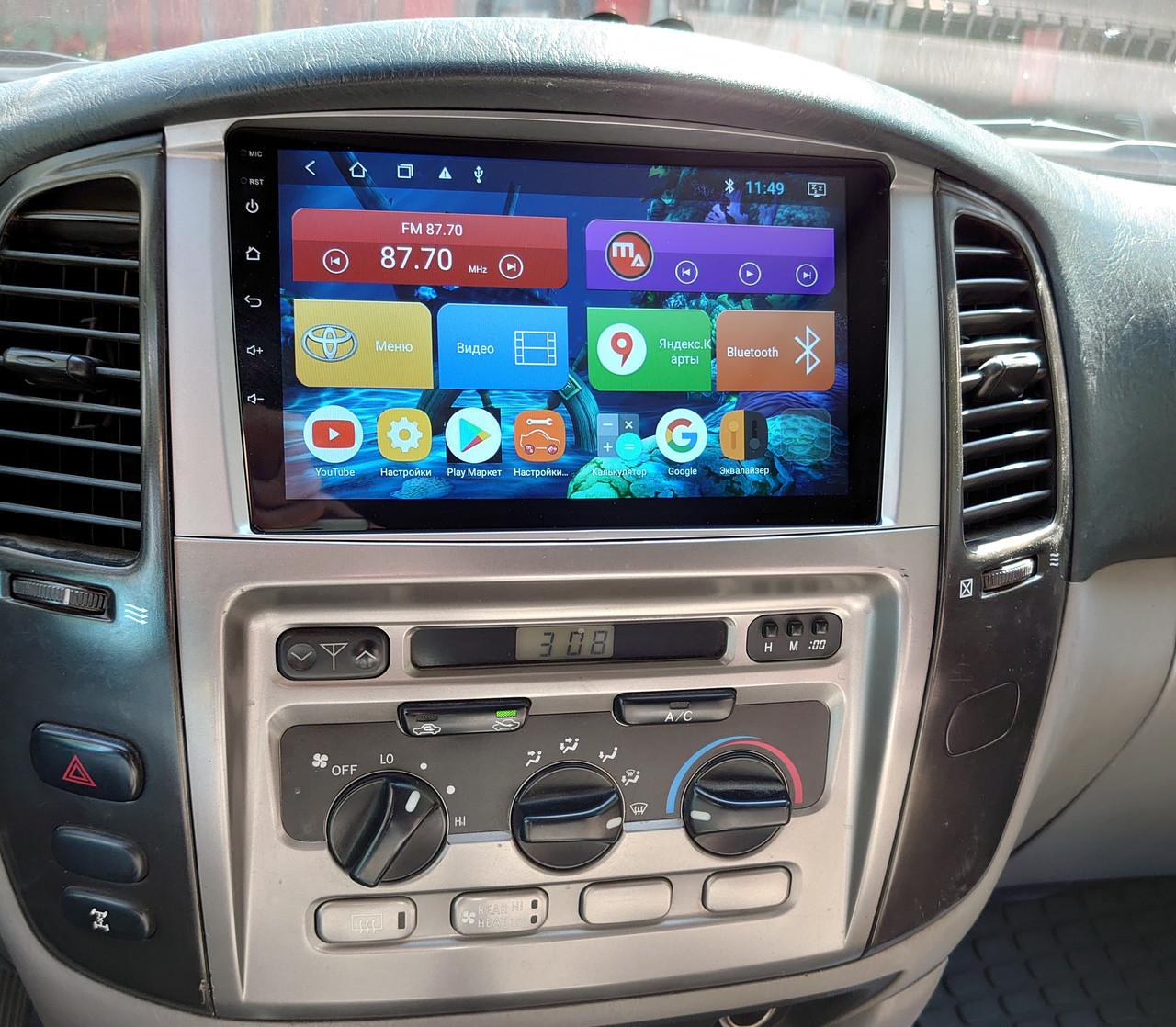 Магнитола Mac Audio Toyota Land Cruiser 105 GX 2003 ANDROID