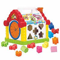 Развивающая игрушка Hola Toys Музыкальный домик-сортер, фото 1