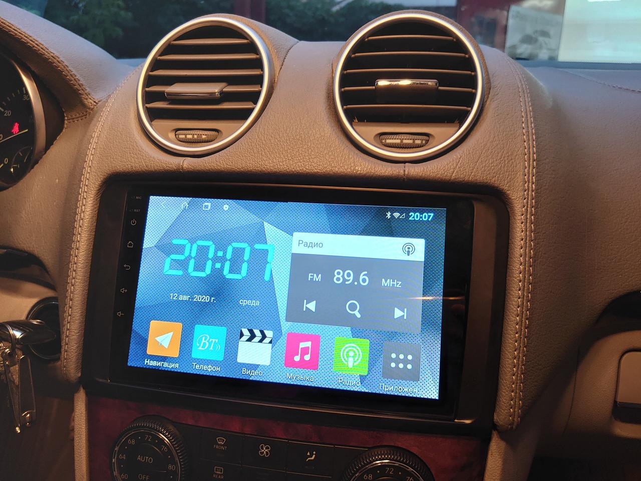 Магнитола Mercedes Benz ML GL W164 Vi Tech ANDROID
