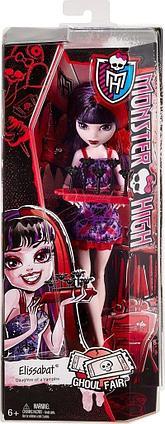 Monster High Элизабет серии Монстро-ярмарка CHW69