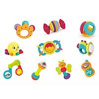 Набор: Забавные погремушки 10 штук Hola toys