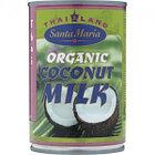 Кокосовое молоко Santa Maria Organic, 400 мл