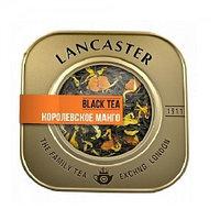 Чёрный чай Lancaster королевское манго, 75 гр.