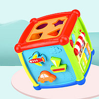 Игрушка развивающая Haunger Куб - сортер Fancy, фото 1