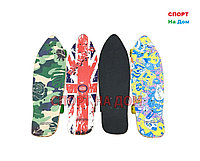 Скейтборд большой дерево (британский флаг)