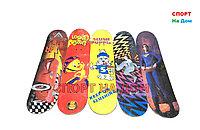 Скейтборд макси детский дерево (Цепленок)